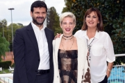 Foto/IPP/Gioia Botteghi 06/10/2017 Roma, presentazione del programma di rai uno LA VITA E' UNA FIGATA, con Bebe Vio, nella foto Andrea Fabiano e Simona Ercolani