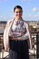 """Foto/IPP/Gioia Botteghi Roma07/11/2018  Presentazione teatrale de """"Belle Ripiene"""" al Sistina, nella foto: Roberta Lanfranchi Italy Photo Press - World Copyright"""