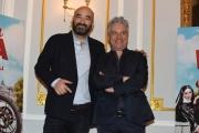 Foto/IPP/Gioia Botteghi 05/01/2018 Roma, presentazione rai del film Benedetta Follia, nella foto gli sceneggiatori Nicola Quaglione e Menotti Italy Photo Press - World Copyright
