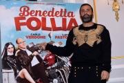 Foto/IPP/Gioia Botteghi 05/01/2018 Roma, presentazione rai del film Benedetta Follia, nella foto coreografo Luca Tommassini Italy Photo Press - World Copyright