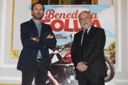 Foto/IPP/Gioia Botteghi 05/01/2018 Roma, presentazione rai del film Benedetta Follia, nella foto Aurelio De Laurentis e Luigi Italy Photo Press - World Copyright