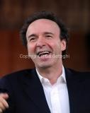 11/12/2014 Roma prove generali de I DIECI COMANDAMENTI con Roberto Benigni