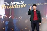 Foto/IPP/Gioia Botteghi Roma 21/03/2019 Presentazione del film Bentornato Presidente, nella foto: GUGLIELMO POGGI Italy Photo Press - World Copyright