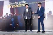 Foto/IPP/Gioia Botteghi Roma 21/03/2019 Presentazione del film Bentornato Presidente, nella foto: i due registi GIANCARLO FONTANA e GIUSEPPE G.STASI Italy Photo Press - World Copyright