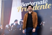 Foto/IPP/Gioia Botteghi Roma 21/03/2019 Presentazione del film Bentornato Presidente, nella foto: MARCO RIPOLDI  Italy Photo Press - World Copyright