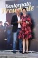Foto/IPP/Gioia Botteghi Roma 21/03/2019 Presentazione del film Bentornato Presidente, nella foto: Claudio Bisio e SARAH FELBERBAUM Italy Photo Press - World Copyright