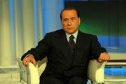 Gioia Botteghi/OMEGA12/02/08 puntata di porta a porta con Silvio Berlusconi
