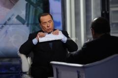 21/05/2014 Roma Berlusconi da Vespa