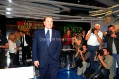 Roma 25/05/2011 Puntata di porta aporta con Berlusconi