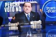 22/11/2016 Roma Puntata di Porta a porta con Berlusconi