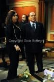 11/01/2013 Roma Berlusconi a Telecamere con Anna La Rosa