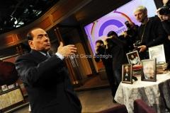 11/01/2013 Roma Berlusconi a Telecamere