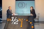 Gioia Botteghi/OMEGA 12/03/06-Mezz'ora- ospite della trasmissione di Lucia Annunziata su raitre in onda domenica 12/3 alle 14,00, Silvio Berlusconi.