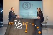 12/03/06-Mezz'ora- ospite della trasmissione di Lucia Annunziata su raitre in onda domenica 12/3 alle 14,00, Silvio Berlusconi.