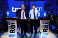 28/11/2012 incontro Bersani Renzi con Monica Maggioni