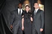 Gioia Botteghi OMEGA 24/01/07 Presentazione del film Blood diamond nelle foto: Leonardo Di Caprio, Djimon Hounsou, Jennifer Connelly