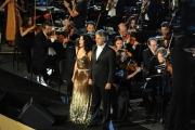 Roma 25/05/2009 concerto di Bocelli al Colosseo, nella foto: Angela Gheorghiu