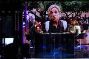 Foto/IPP/Gioia Botteghi 01/10/2017 Roma, puntata di mezz'ora in più, rai tre, ospite di Lucia Annunziata: Luca Zaia collegamento con Barcellona