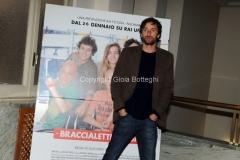 24/01/2014 Roma presentazione della fiction rai Braccialetti rossi, nella foto : Ignazio Oliva