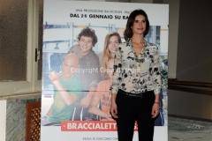 24/01/2014 Roma presentazione della fiction rai Braccialetti rossi, nella foto : Simonetta Solder