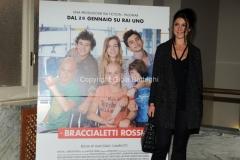24/01/2014 Roma presentazione della fiction rai Braccialetti rossi, nella foto : Francesca Valtorta
