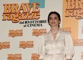 Foto/IPP/Gioia Botteghi Roma 03/10/2019 Presentata del film Brave ragazze, nella foto:  ILENIA PASTORELLI     Italy Photo Press - World Copyright