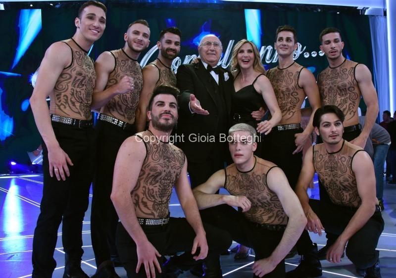 Foto/IPP/Gioia Botteghi Roma 07/06/2019  puntata di Buon compleanno Pippo su rai uno, nella foto: Lorella Cuccarini con Pippo Baudo Italy Photo Press - World Copyright