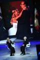 Foto/IPP/Gioia Botteghi Roma 07/06/2019  puntata di Buon compleanno Pippo su rai uno, nella foto: Michelle Hunziker con Pippo Baudo Italy Photo Press - World Copyright
