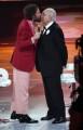 Foto/IPP/Gioia Botteghi Roma 07/06/2019  puntata di Buon compleanno Pippo su rai uno, nella foto: Lorenzo Jovanotti con Pippo Baudo Italy Photo Press - World Copyright