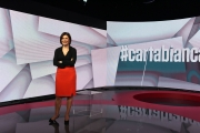 07/11/2016 Roma prima puntata di Carta Bianca rai tre , nelle foto: Bianca Berlinguer