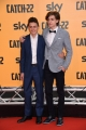 Foto/IPP/Gioia BotteghiRoma 13/05/2019 Photocall della serie tv Sky CATCH-22 , red carpet, nella foto: Domenico Cuomo e Giovanni StocchinoItaly Photo Press - World Copyright