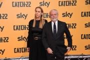 Foto/IPP/Gioia BotteghiRoma 13/05/2019 Photocall della serie tv Sky CATCH-22 , red carpet, nella foto: Aurelio De Laurentis con signoraItaly Photo Press - World Copyright