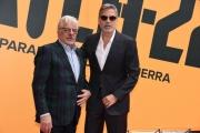 Foto/IPP/Gioia Botteghi Roma 13/05/2019 Photocall della serie tv Sky CATCH-22, nella foto: George Clooney con Giancarlo Giannini Italy Photo Press - World Copyright