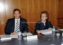 18/07/2012 presidente rai Tarantola e direttore generale Gubitosi pool