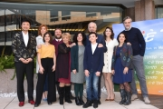 Foto/IPP/Gioia Botteghi Roma 04/03/2019 Presentazione del film C'è tempo, nella foto: cast Italy Photo Press - World Copyright