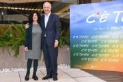 Foto/IPP/Gioia Botteghi Roma 04/03/2019 Presentazione del film C'è tempo, nella foto: Walter Veltroni e la sceneggiatrice Doriana Leondeff Italy Photo Press - World Copyright