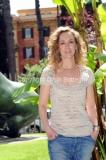 03/05/2013 Roma presentazione della nuova striscia tv di rai tre _Celi, mio marito_ nella foto la conduttrice Lia Celi