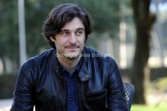 19/02/2013 Roma presentazione della fiction di raiuno, CHE DIO CI AIUTI 2, nella foto: Lino Guanciale