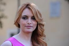 19/02/2013 Roma presentazione della fiction di raiuno, CHE DIO CI AIUTI 2, nella foto: Miriam Dalmazio