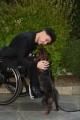 Foto/IPP/Gioia Botteghi Roma17/12/2019 presentazione del programma di Rai 3 CHE STORIA E' LA MUSICA, nella foto: Ezio Bosso ed il suo cane Italy Photo Press - World Copyright