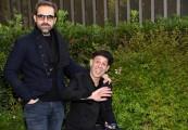 Foto/IPP/Gioia Botteghi Roma17/12/2019 presentazione del programma di Rai 3 CHE STORIA E' LA MUSICA, nella foto: Ezio Bosso e Angelo Bozzolini ideatore del programma Italy Photo Press - World Copyright