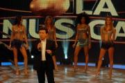 7/02/08 Prima puntata della trasmissione tv condotta da Pupo Chi fermerà la musica