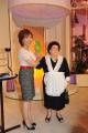 Roma 07/10/2009 Ci vediamo domenica, presentato da Alda D'Eusanio, in onda la mattina alle 10 su raidue, nella foto Anna Longo che interpreta la governante di casa D'Eusanio