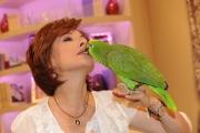 Roma 07/10/2009 Ci vediamo domenica, presentato da Alda D'Eusanio, in onda la mattina alle 10 su raidue con Giorgio il suo pappagallo