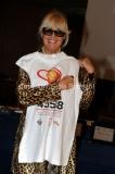 Roma, 16 aprile 2012. Rai, presentazione di CI vuole cuore, fondazione italiana Cuore e circolazione, nella foto da sx: Loretta Goggi