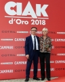 Foto/IPP/Gioia Botteghi07/06/2018 Roma, Photocall ciak d'oro, nella foto: Piera de Tassis direttrice ciak d'oro Venafro presidente Italy Photo Press - World Copyright