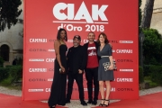 Foto/IPP/Gioia Botteghi07/06/2018 Roma, Photocall ciak d'oro, nella foto: Manetti Bros con signore Italy Photo Press - World Copyright