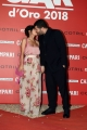 Foto/IPP/Gioia Botteghi07/06/2018 Roma, Photocall ciak d'oro, nella foto: Salvatore Esposito e signora Italy Photo Press - World Copyright