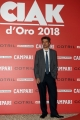 Foto/IPP/Gioia Botteghi07/06/2018 Roma, Photocall ciak d'oro, nella foto:  Alessandro Lai , costumi Italy Photo Press - World Copyright