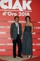 Foto/IPP/Gioia Botteghi07/06/2018 Roma, Photocall ciak d'oro, nella foto:  Alessandro Lai e signora , costumi Italy Photo Press - World Copyright